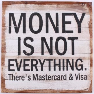 em6176 money is not everything there is mastercard en visa