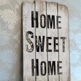 em2726 home wseet home rustiek tekst bord cadeau kado online metaal deco decoratie