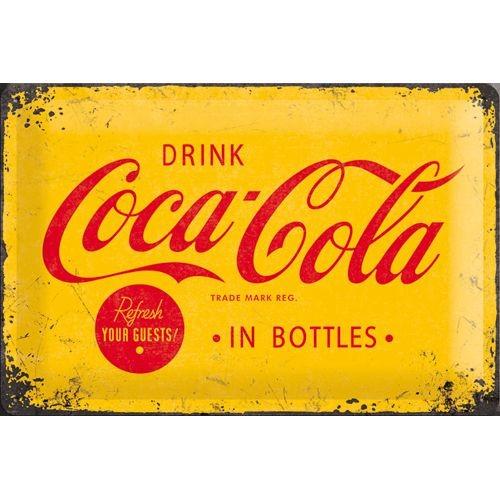 NA22228 Tin Sign 20x30 Coca Cola 1930 gebold metalen bord rustiek tekstbord tekst bord cadeau kado online metaal decoratie
