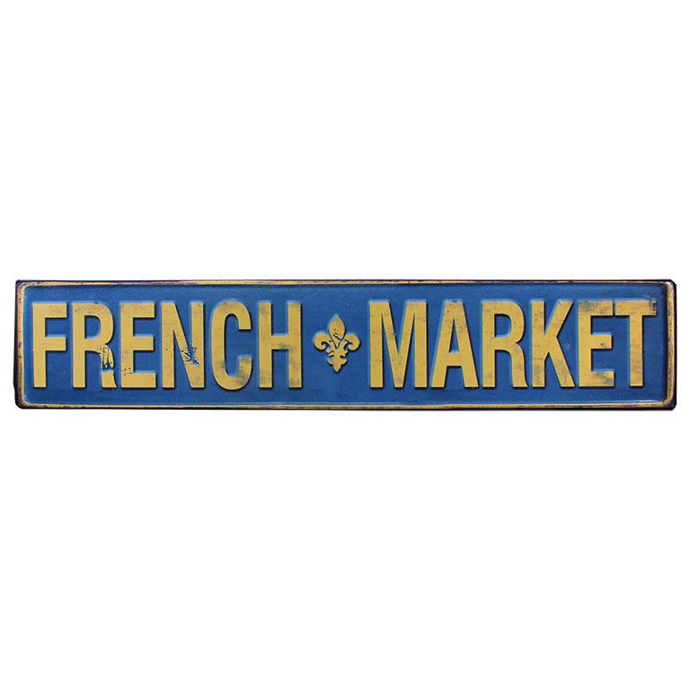 tekstbord em2468 french market kado online metaal deco decoratie