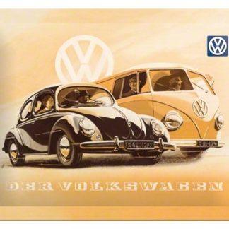 na26130 tin sign 15 x 20 der volkswagen vw gebold metalen bord rustiek tekstbord tekst bord cadeau kado online metaal decoratie