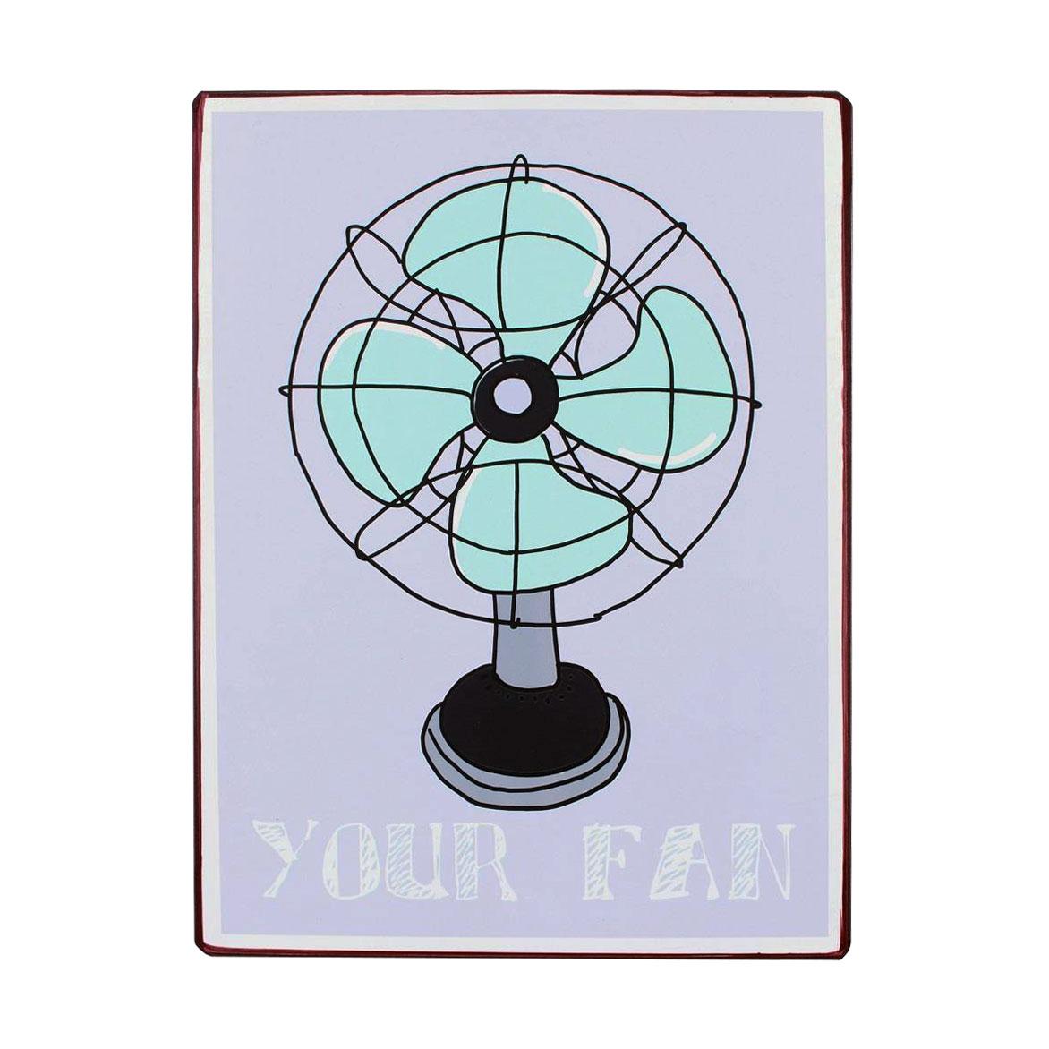 em6249-your-fan-rustiek-tekst-bord-cadeau-kado-online-metaal-deco-decoratie