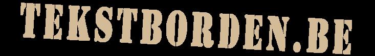 Tekst Borden